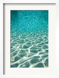 The Sun is Reflected in Patterns in a Pool, San Diego, California Posters by Tim Laman
