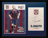Barcelona - Iniesta 16/17 Collector-tryk