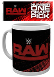 WWE - Raw Draft Mug Taza