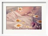 Floral Bath Posters by Luc Coiffait