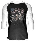 Kiss - Made In The Usa (Raglan) - T shirt