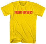 Tower Records- Classic Red Logo T-shirts