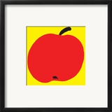Apple Poster by Philip Sheffield