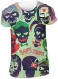 Suicide Squad - Sugar Skulls Poster (Slim Fit) Magliette