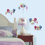 Shimmer and Shine Peel and Stick Wall Decals Wall Decal