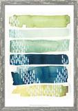 Aqua Streak II Prints by Grace Popp