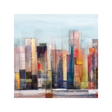 West Side Giclee Print by Asha Menghrajani