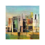 Golden City 1 Giclee Print by Asha Menghrajani