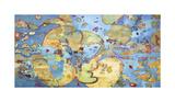 Cosmic Breakup Giclee Print by Judith D'Agostino
