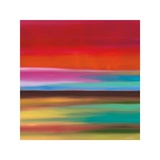 Red Skies Giclee Print by Mary Johnston