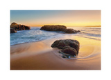 Beach at Cargese Giclee Print by Paolo De Faveri