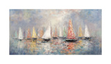 Colored Sails Giclee Print by John Young
