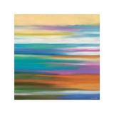 Painted Skies 4 Giclee-trykk av Mary Johnston