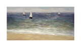 White Sails Giclee Print by John Young