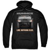 Hoodie: Hummer- Like Nothing Else Pullover Hoodie