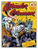Wonder Woman - Cover No.1 Cartel de chapa