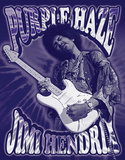 Jimi Hendrix - Purple Haze Tin Sign