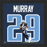DeMarco Murray, Titans photographic representation of the player's jersey Framed Memorabilia