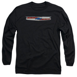 Long Sleeve: Chevrolet- 56 Bel Air Shield T-Shirt