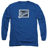 Long Sleeve: Buick- Distressed Block Grill Long Sleeves