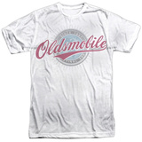 Oldsmobile- Oversized And Faded Logo T-shirts