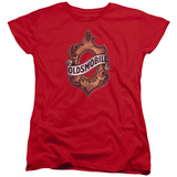 Womens: Oldsmobile- Detroit Crest T-shirts