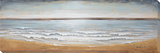 Incoming Tide - Hand Painted Art on Wood Poster