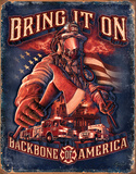 Fire Fighters - Bring It On Tin Sign