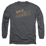 Long Sleeve: Oldsmobile- Retro Rocket 88 Logo Shirt
