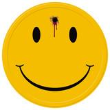 Happy Face - Bad Tin Sign