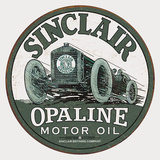 Sinclair - Race Car Tin Sign