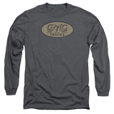 Long Sleeve: GMC- Vintage Oval Logo T-Shirt