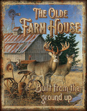JQ - Olde Farmhouse Tin Sign