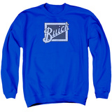 Crewneck Sweatshirt: Buick- Distressed Block Grill T-shirts