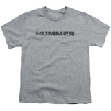 Youth: Hummer- Distressed Hummer Logo T-shirts