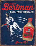 Bertman Stadium Mustard Tin Sign