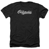 Oldsmobile- Distressed Script Logo Shirts
