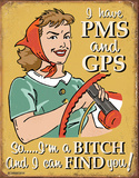 Schonberg - PMS & GPS Tin Sign