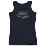Juniors Tank Top: Buick- 1952 Roadmaster Distressed T-shirts