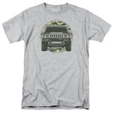Hummer- Lead Or Follow Camo Patch Shirts
