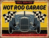 Hot Rod Garage - '32 Rod Tin Sign