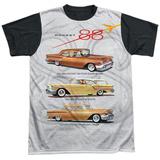 Oldsmobile- Delta 88 Golden Rockets Black Back T-Shirt