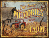 JQ - Farm Memories Tin Sign