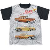 Youth: Oldsmobile- Delta 88 Golden Rockets Black Back T-shirts