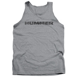 Tank Top: Hummer- Distressed Hummer Logo Tank Top