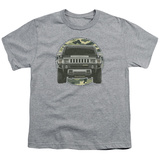 Youth: Hummer- Lead Or Follow Camo Patch T-shirts