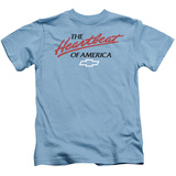 Juvenile: Chevrolet- Heartbeat Of America T-shirts