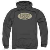 Hoodie: GMC- Vintage Oval Logo Pullover Hoodie
