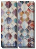 Morocco Set Hand Embellished Canvas