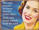 Your Diet Tin Sign